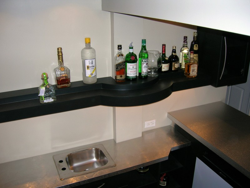 Custom Built Bar - 5
