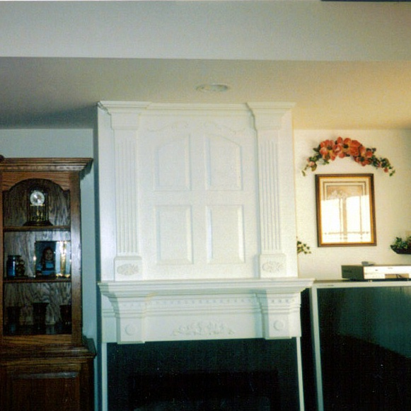 MDF Paint Grade Mantle