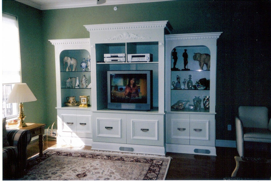MDF Paint Grade Wall Unit - 2