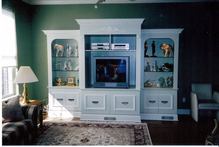 MDF Paint Grade Wall Unit - 1