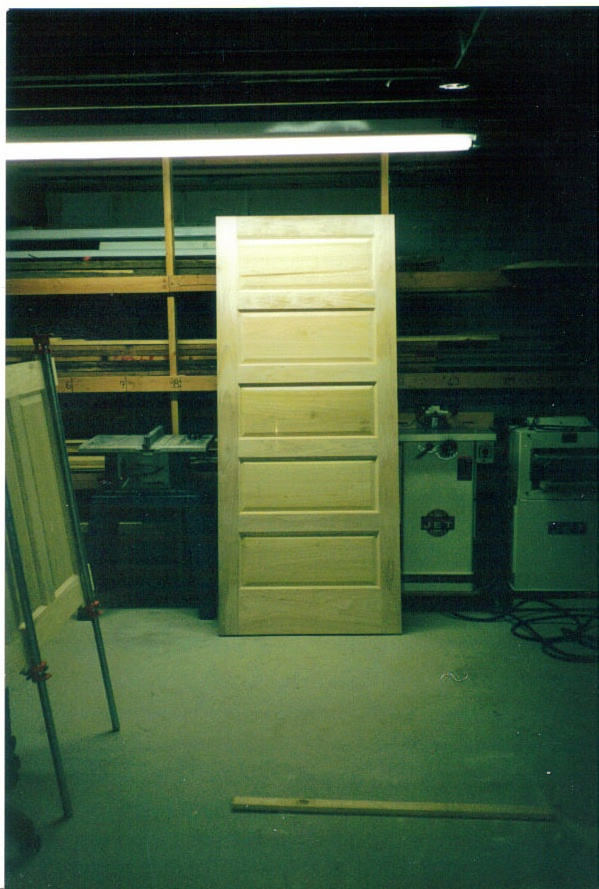 Poplar Paint Grade Door - 1