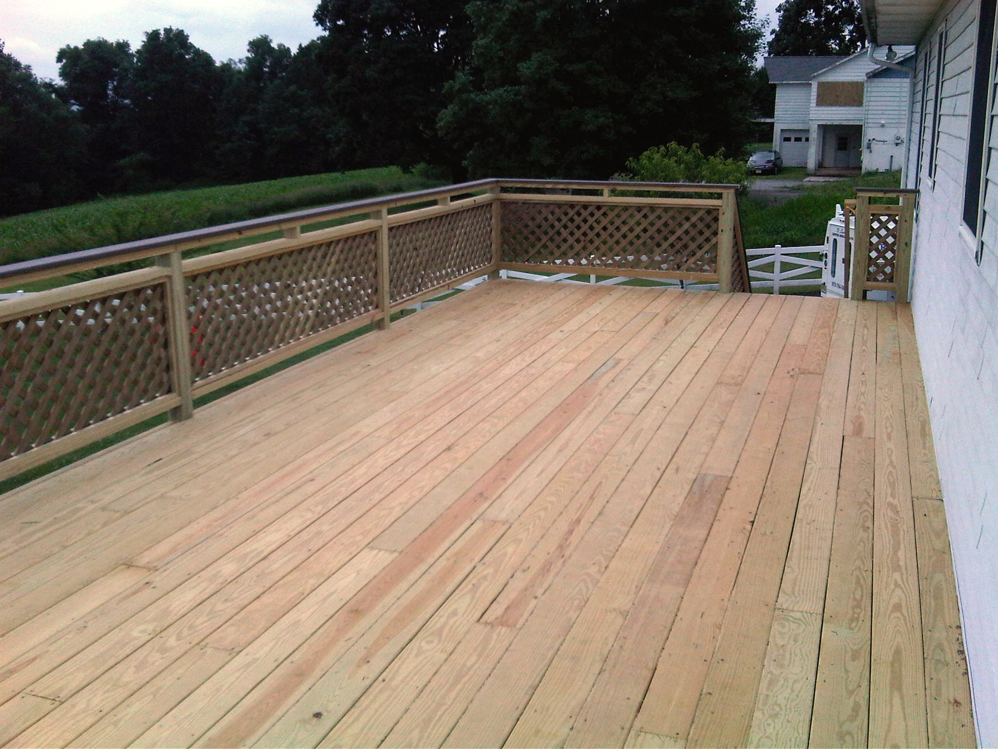 12' X 32' Pressure Treated Deck 2